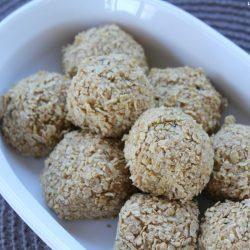 crunchy energy balls