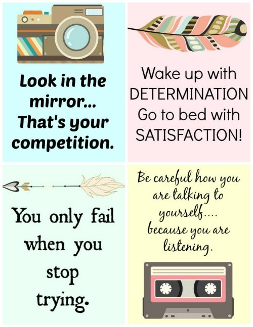 Motivational Cards for Busy Moms