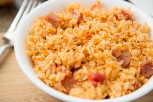 Instant Pot Spanish Rice with Ham