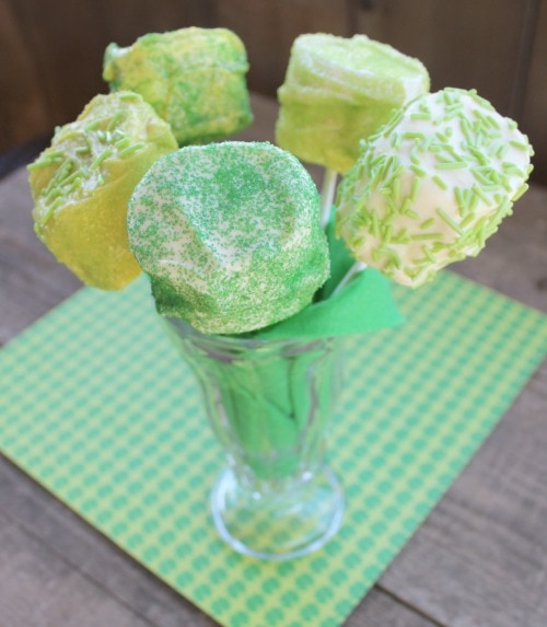 St. Patrick's Day Decorated Marshmallows