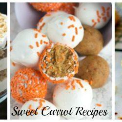 Sweet Carrot Recipes
