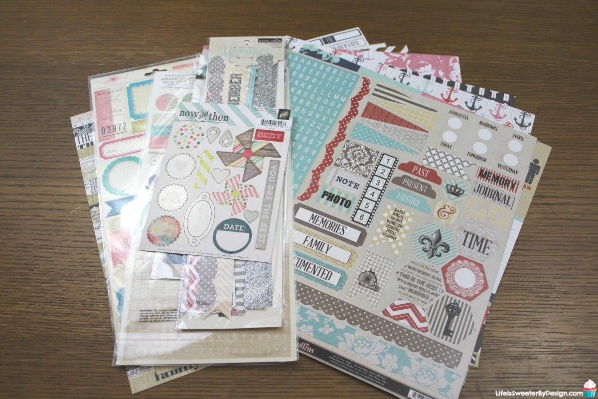 Scrapbookingstore Monthly Kit Review Life Is Sweeter By Design