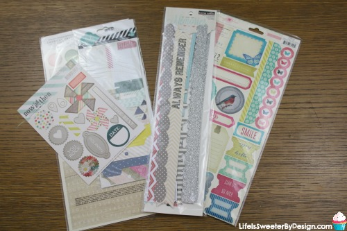 Scrapbookingstore Monthly Kit Review