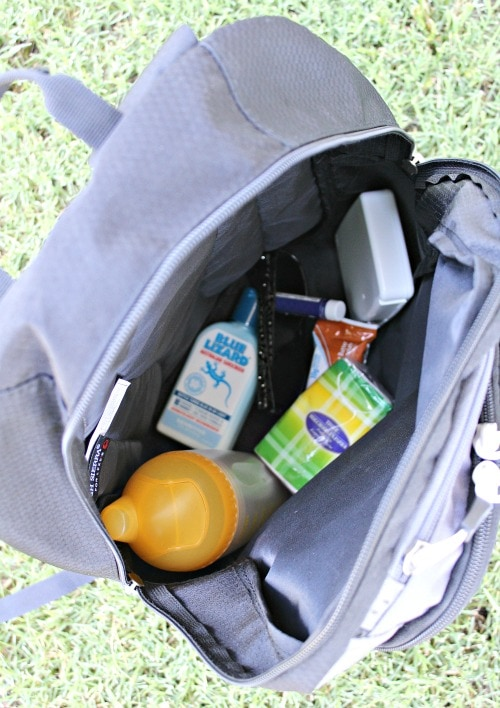 packing for day hiking trips
