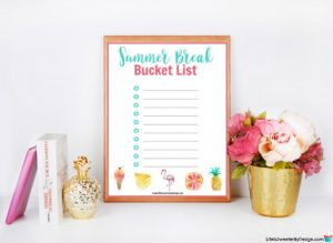 Make Your Own Summer Bucket List