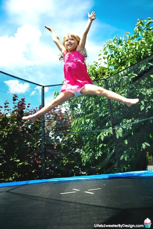 easy trampoline games