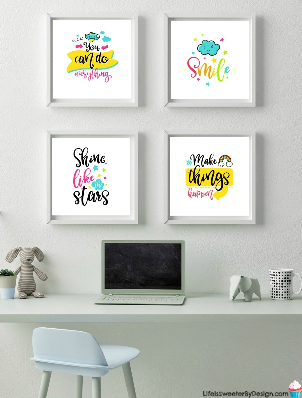 Printable Wall Art for a Little Girl's Room - Life is