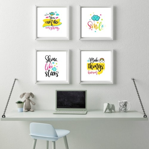 printable wall art for little girls. Printable Wall Art for a Little Girl s Room   Life is Sweeter By