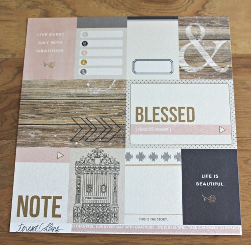 monthly scrapbookingstore kit review