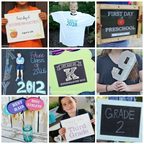 great ideas for first day of school
