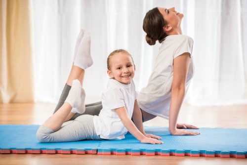 ways to workout with kids