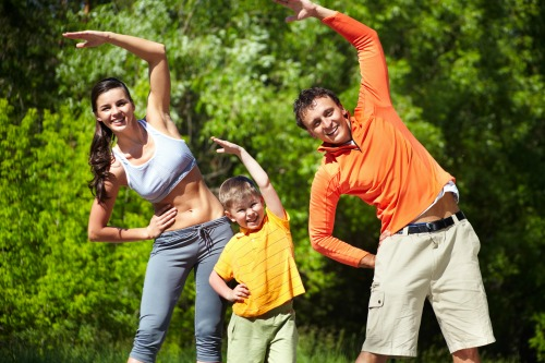 fun ways to exercise with kids