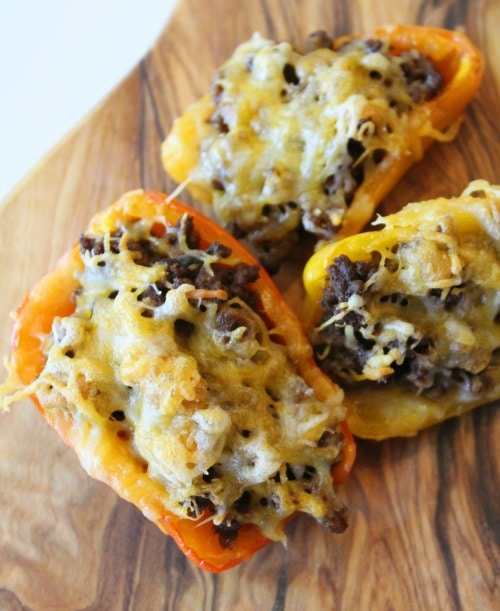 low carb stuffed bell peppers