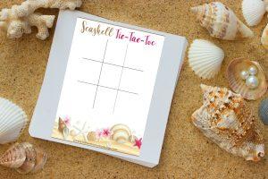 Seashell Tic Tac Toe