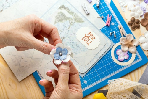 how to get more scrapbooking done