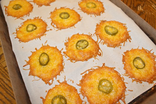 jalapeno and cheese crisps