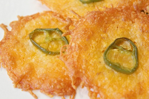 jalapeno cheese crisps recipe for low carb