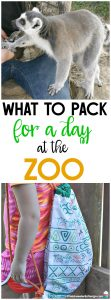 What To Pack for a Zoo Trip