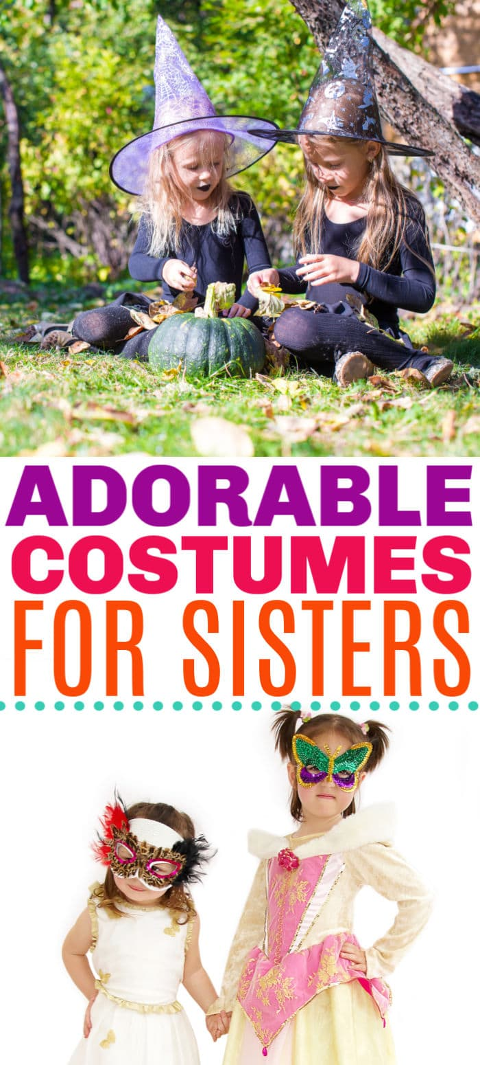 costume ideas for sisters