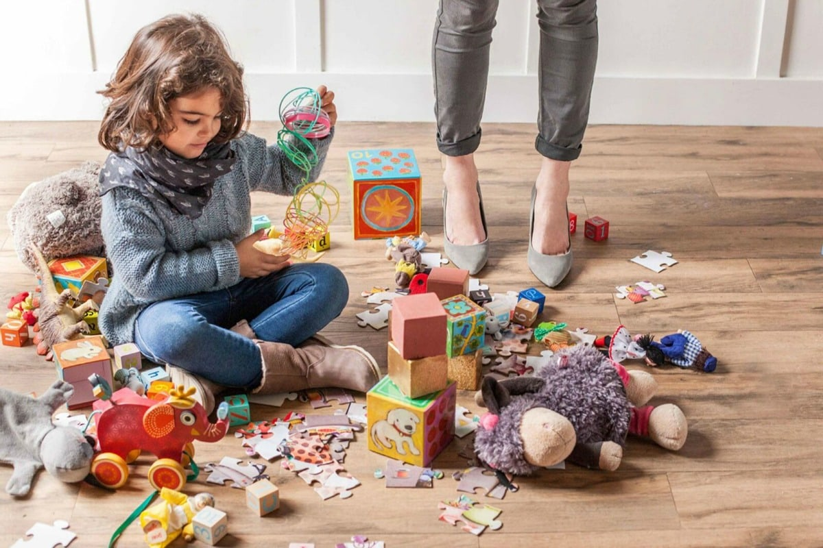 Toys For Life : Easy hack for picking up toys fast life is sweeter by design