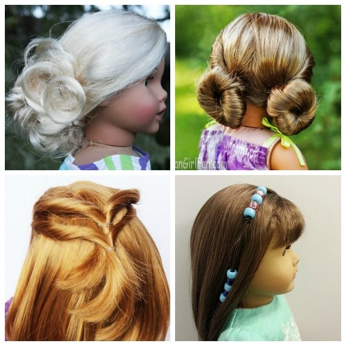 Astounding Easy American Girl Hairstyles Even Little Girls Can Do Life Is Schematic Wiring Diagrams Phreekkolirunnerswayorg