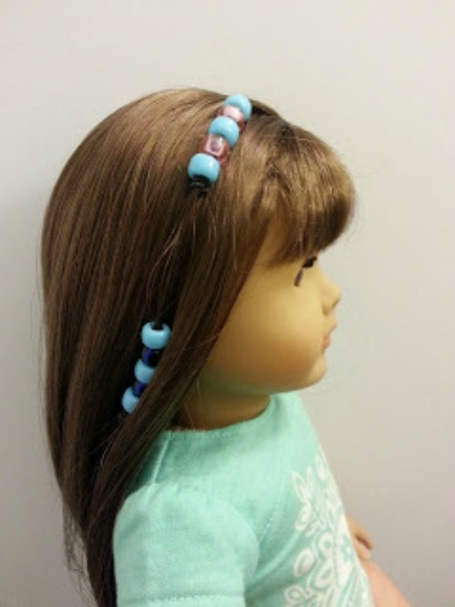 easy ways to fix doll hair
