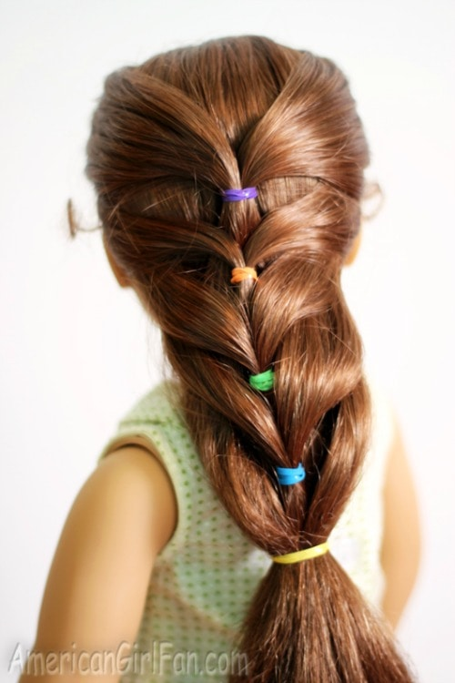 easy doll hairdo