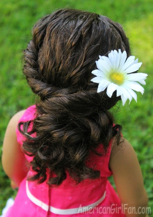 simple hairstyles for American girl dolls