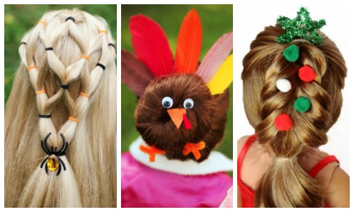 holiday hairstyles for American Girl dolls