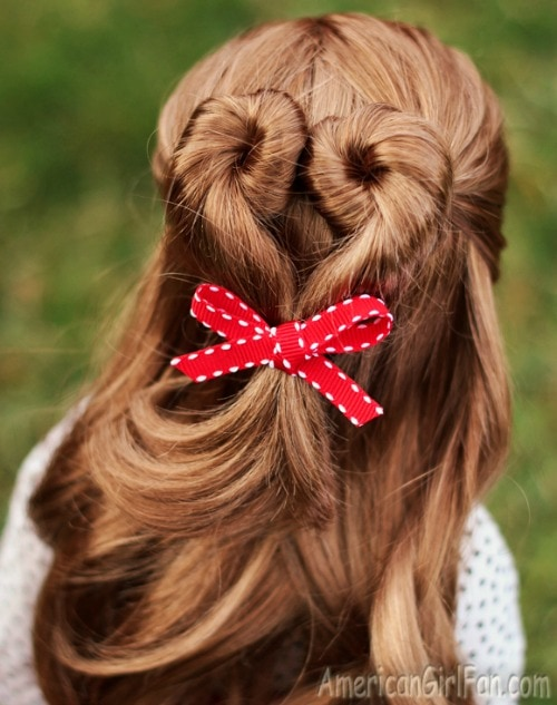 how to do a dolls hair for the holidays