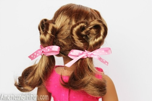 holiday hair for 18 inch dolls