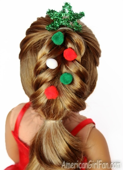 American girl doll hair ideas