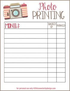Easy Way to Keep Track of Which Photos You Have Printed