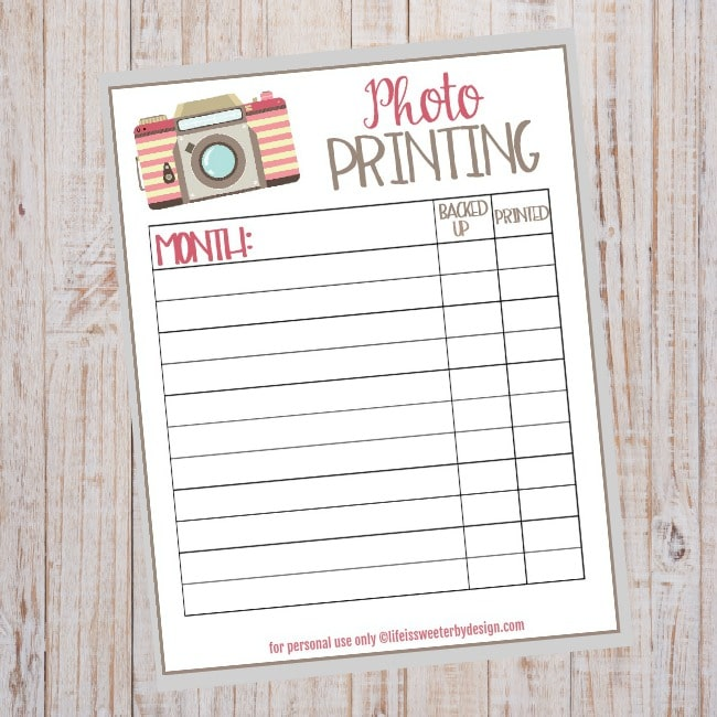 how to keep track of what photos you have printed