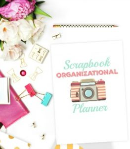 Scrapbook Organizational Planner