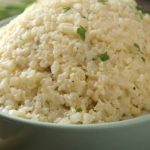 Weight Watchers recipe for Cheesy Cauliflower Rice