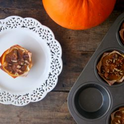 Weight Watchers Pumpkin Pie Tarts