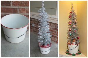 DIY Vintage Christmas Tree