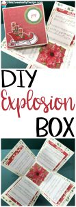 How to Make a Christmas Explosion Box