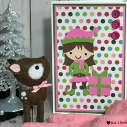 How to make a Cricut elf card