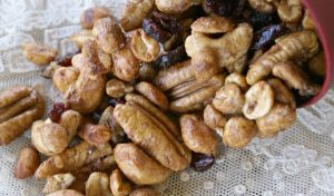 Microwave Spiced Nuts
