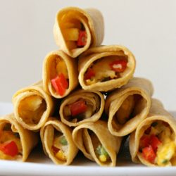 Weight Watchers baked breakfast taquitos