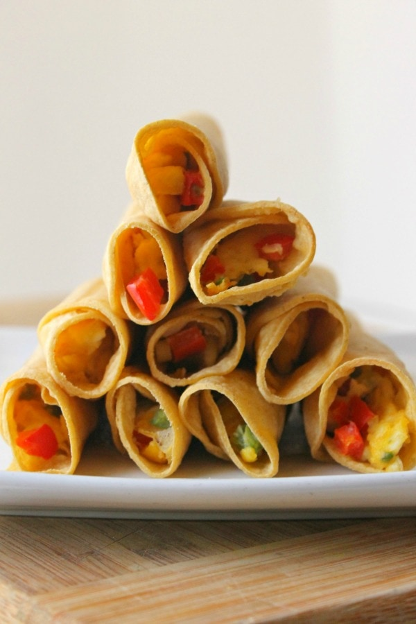 healthy breakfast taquitos