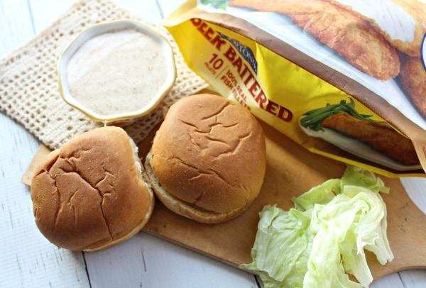 Crispy fish sandwich recipe