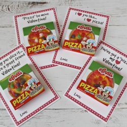 DIY pizza Valentines