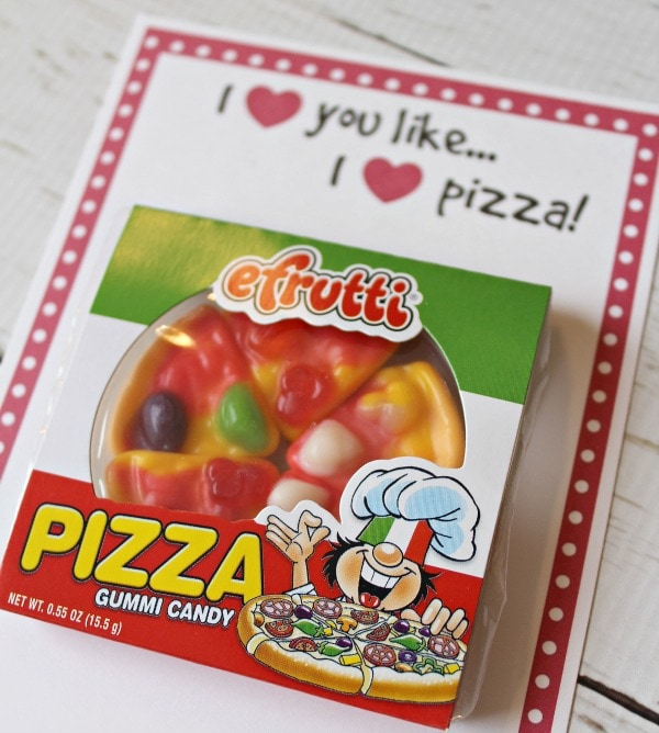 gummy pizza candy Valentines