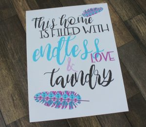 Laundry Room Free Printable Wall Art