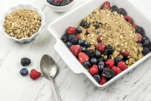 Weight Watchers Triple Berry Crisp