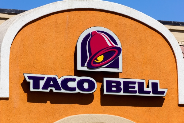 Taco Bell menu options for Weight Watchers