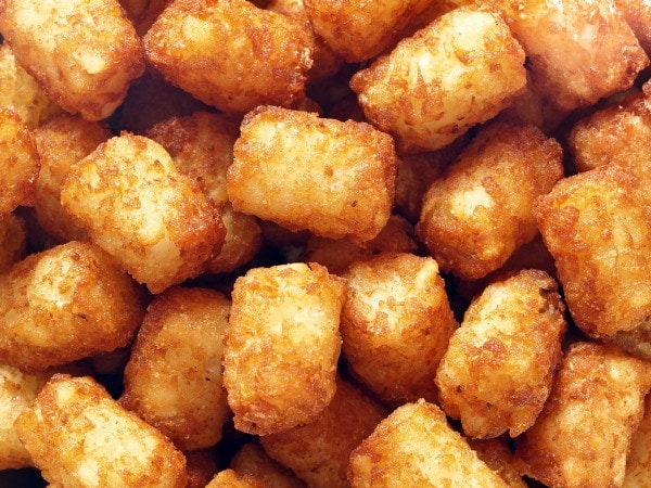 tater tots in the NuWave oven
